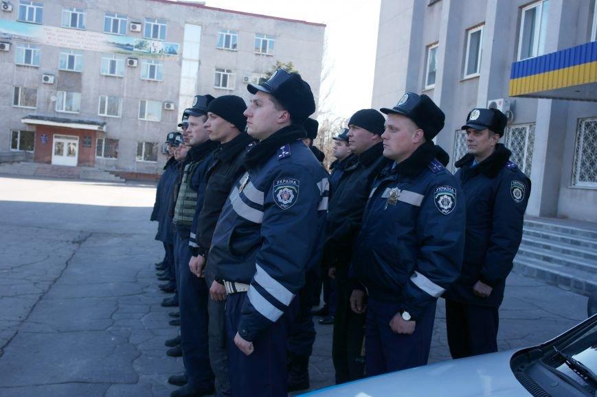 В Красноармейске показательный развод горотдела милиции станет традиционным (ФОТО, ВИДЕО) (фото) - фото 3