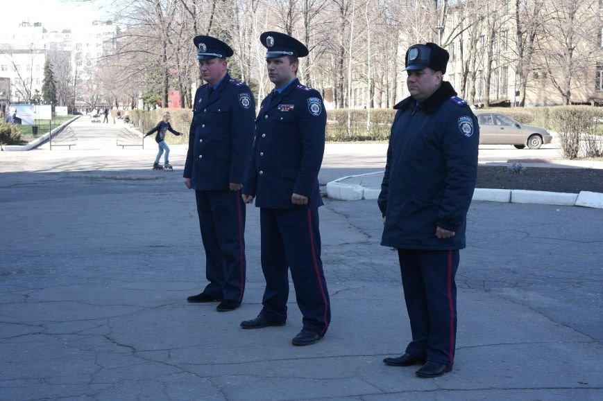 В Красноармейске показательный развод горотдела милиции станет традиционным (ФОТО, ВИДЕО) (фото) - фото 5