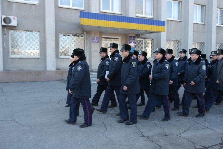 В Красноармейске показательный развод горотдела милиции станет традиционным (ФОТО, ВИДЕО) (фото) - фото 7