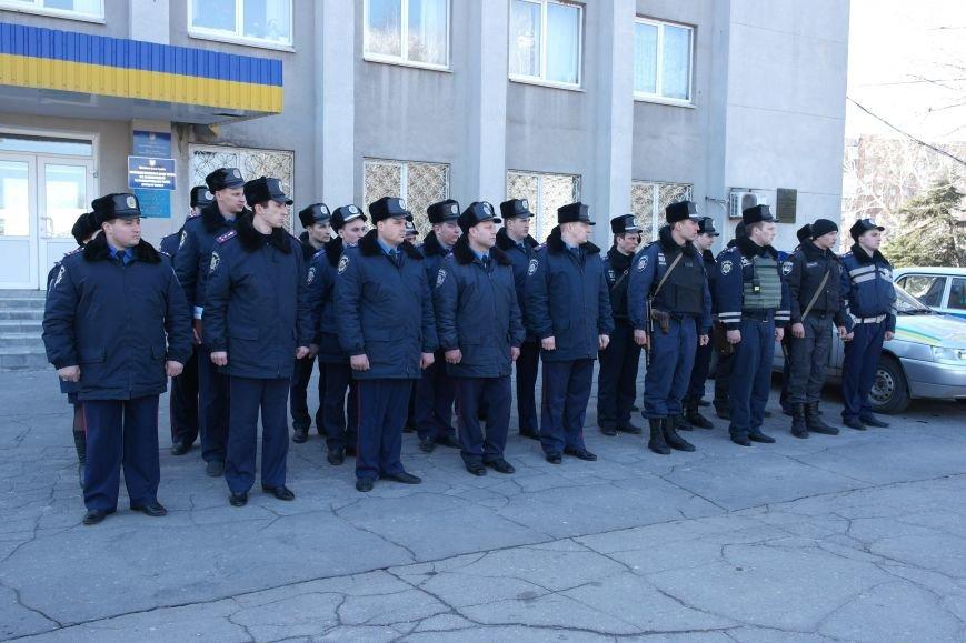 В Красноармейске показательный развод горотдела милиции станет традиционным (ФОТО, ВИДЕО) (фото) - фото 6