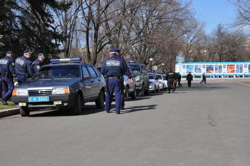 На центральной площади Краматорска прошел развод личного состава горотдела, фото-4