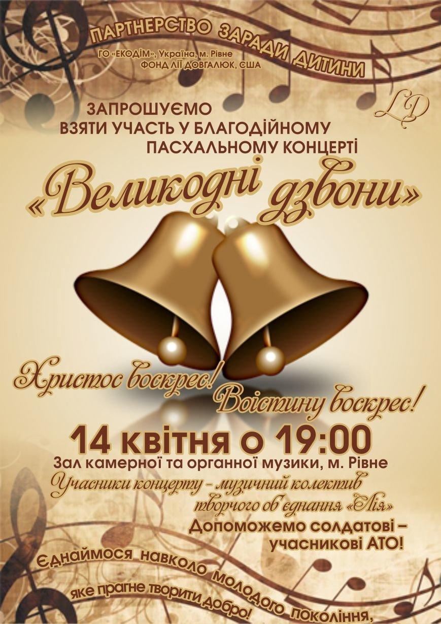 плакат _Великодні дзвони_