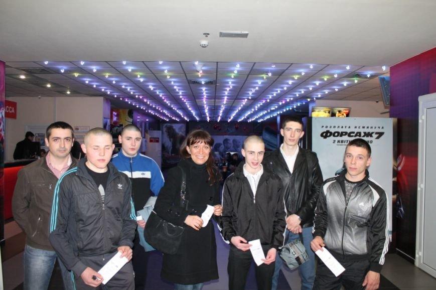 Самые примерные осуждённые Кременчугской воспитательной колонии были награждены посещением 3D-кинотеатра, фото-4