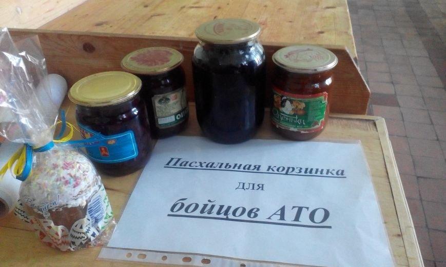 Запорожские студенты отправляют в АТО пасхальные куличи и ... своего повара (ФОТОРЕПОРТАЖ) (фото) - фото 2