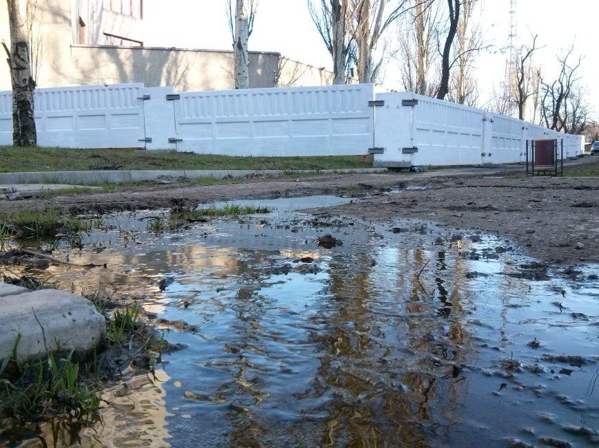 В Мариуполе ОБСЕ от затопления спасла ливневка (ФОТОФАКТ) (фото) - фото 1