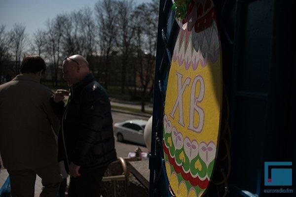 В Гродно православные освещали яйца, булки и деньги (фото) - фото 8