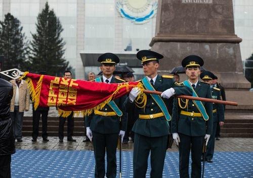 Передача знамени 72-ой стрелковой дивизии