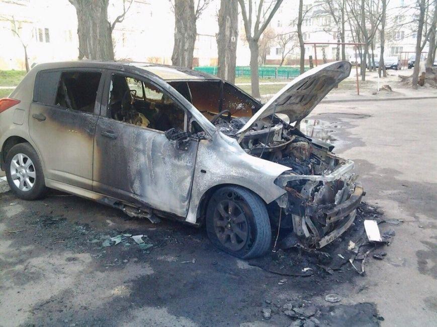 В Сумах прокатилась волна поджогов: за ночь сгорели 4 машины (ФОТО) (фото) - фото 1