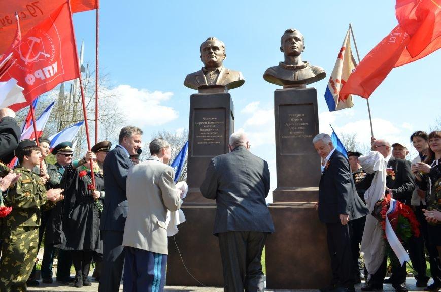 В Симферополе торжественно открыли два новых памятника (ФОТОРЕПОРТАЖ), фото-10