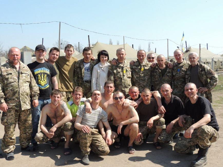Участники АТО из Николаевщины получили к Пасхе праздничные корзины (ФОТО) (фото) - фото 3