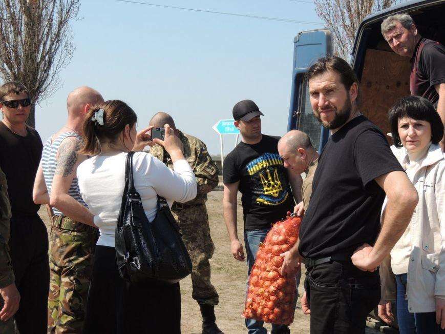 Участники АТО из Николаевщины получили к Пасхе праздничные корзины (ФОТО) (фото) - фото 1