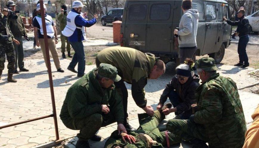 В районе Мариуполя на «растяжке» подорвался репортер (ДОПОЛНЯЕТСЯ+ВИДЕО) (фото) - фото 1