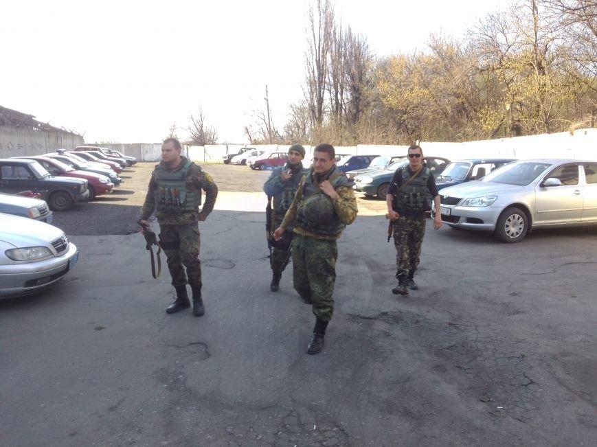 Добропольские правоохранители вернулись из зоны АТО, фото-1