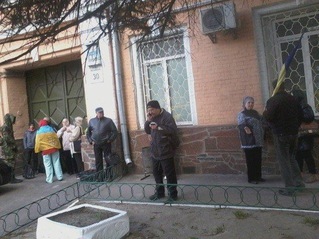 Криворожских активистов арестовали «за хулиганство» под Высшим хозяйственным судом Украины (ФОТО) (фото) - фото 1