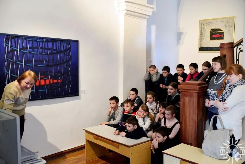 В Художественной галерее Полоцка начались музейно-педагогические занятия, фото-1