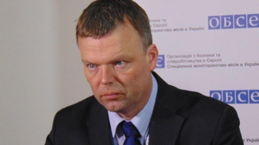 Представители ОБСЕ рассказали о распределение вооруженных сил Украины  и  «ДНР» в Широкино (ФОТО) (фото) - фото 1