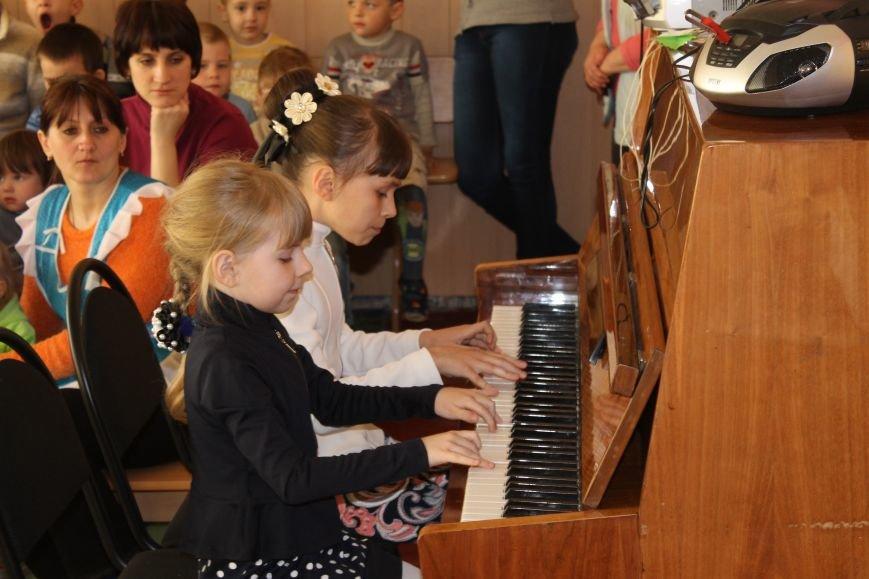 Маленькие музыканты Белицкого посетили с концертом Новодонецкое, фото-7