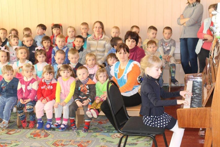 Маленькие музыканты Белицкого посетили с концертом Новодонецкое, фото-6