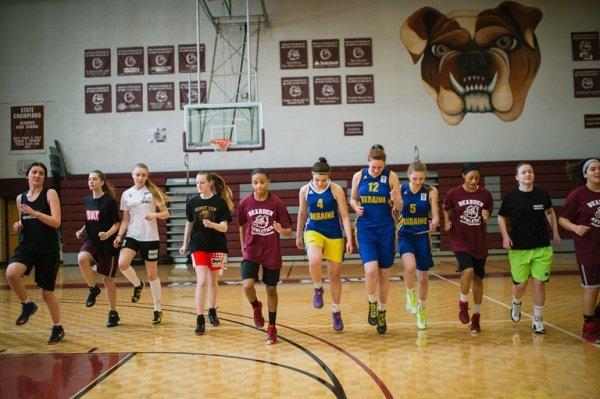 Баскетболистки 1