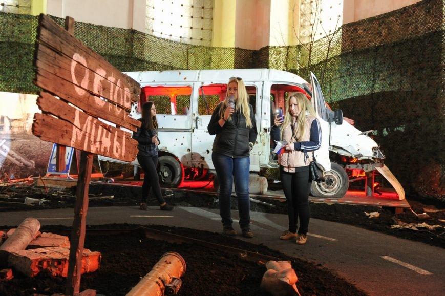 В Москве открылась скандальная выставка, посвященная годовщине войны на Донбассе (фото) - фото 3