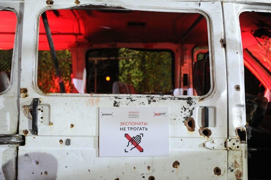 В Москве открылась скандальная выставка, посвященная годовщине войны на Донбассе (фото) - фото 5