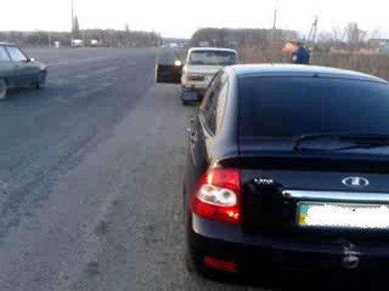 В Полтавской области мужчина попал в ДТП на украденном автомобиле (ФОТО) (фото) - фото 1