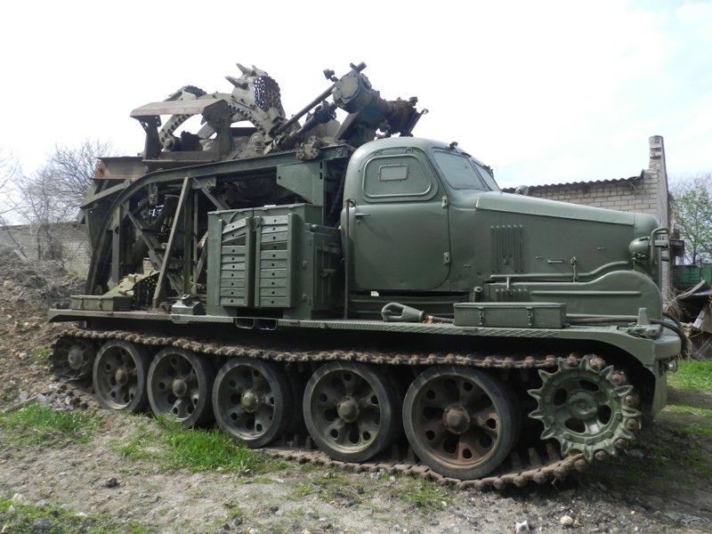 Херсонские спасатели помогают военным в ремонте техники из зоны АТО (фото) (фото) - фото 1