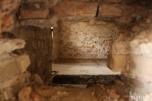 Фоторепортаж: в Старом замке снимают штукатурку и исследуют стены (фото) - фото 5
