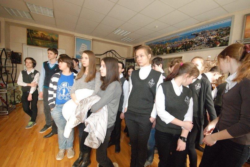 Ильичевский морской порт посетили одесские школьники (фото) - фото 1