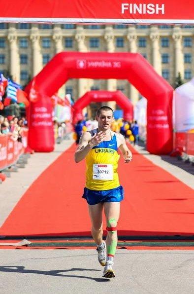 Артемовец взял «серебро» на Втором международном марафоне в Харькове, фото-3