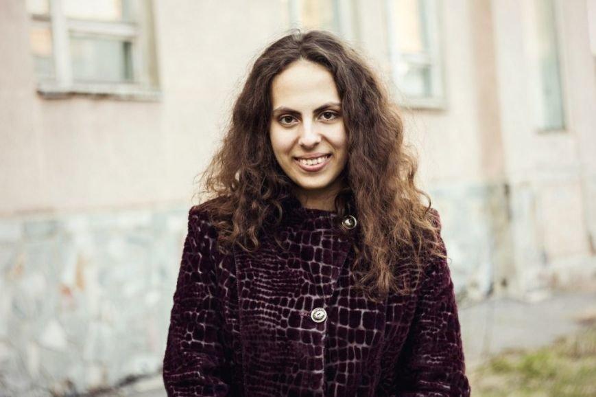 Вікторія Рєпка, організатор читань (1)