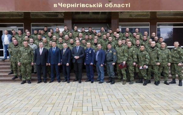 Батальон «Чернигов» отпраздновал первый день рождения, фото-3