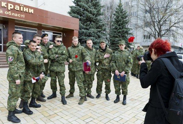 Батальон «Чернигов» отпраздновал первый день рождения, фото-4