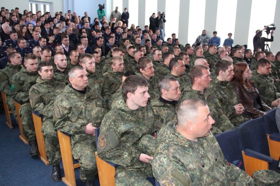 Батальон «Чернигов» отпраздновал первый день рождения (фото) - фото 1