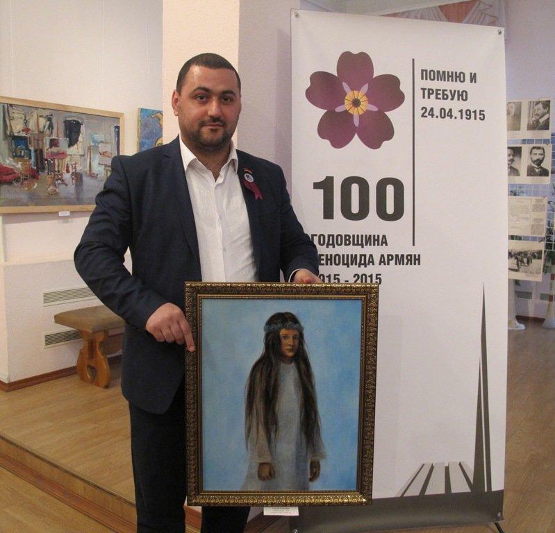 У Кіровоградському обласному художньому музеї відбулося відкриття виставки «Перший геноцид ХХ століття», фото-1
