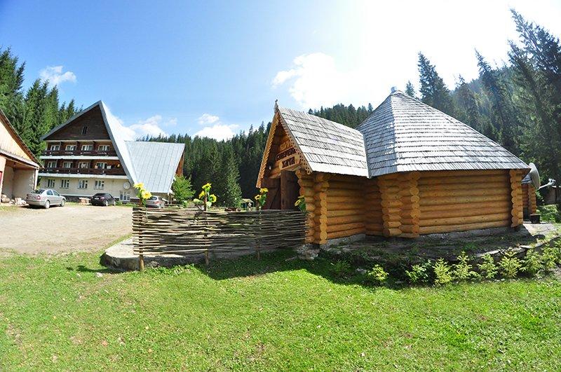 Спортивно-оздоровительный лагерь «Атлас-Синевир», озеро Синевир (фото) - фото 1