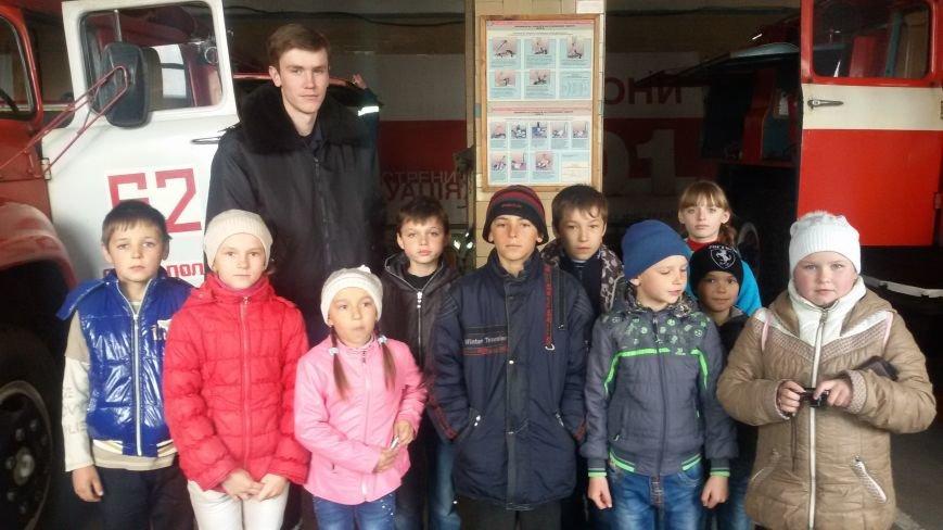 Будущие спасатели и пожарники Доброполья, фото-3