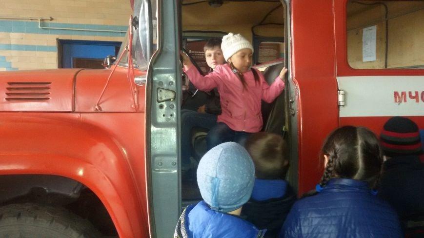 Будущие спасатели и пожарники Доброполья, фото-1