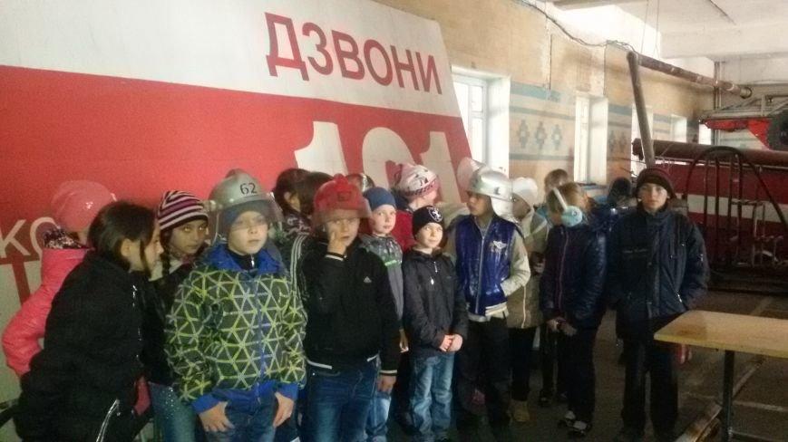 Будущие спасатели и пожарники Доброполья, фото-7