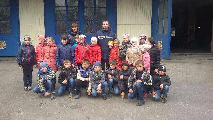 Будущие спасатели и пожарники Доброполья, фото-5