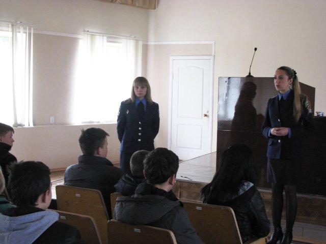 В Доброполье школьники узнали работу милиции изнутри, фото-1