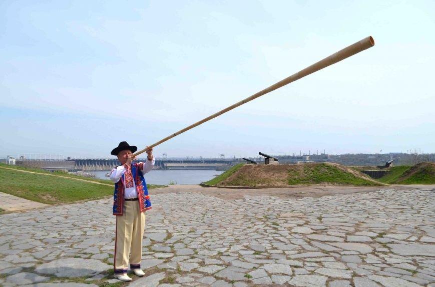 На Хортице трембита призвала к миру (ФОТОФАКТ) (фото) - фото 2