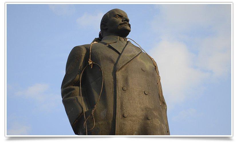 Как и кто валил Ленина в Крамоторске (фото) - фото 5