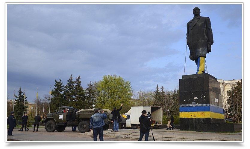 Как и кто валил Ленина в Крамоторске (фото) - фото 6