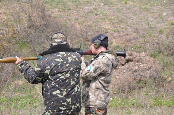 Николаевская милиция милиция «отстрелялась» на полигоне (ФОТО) (фото) - фото 1