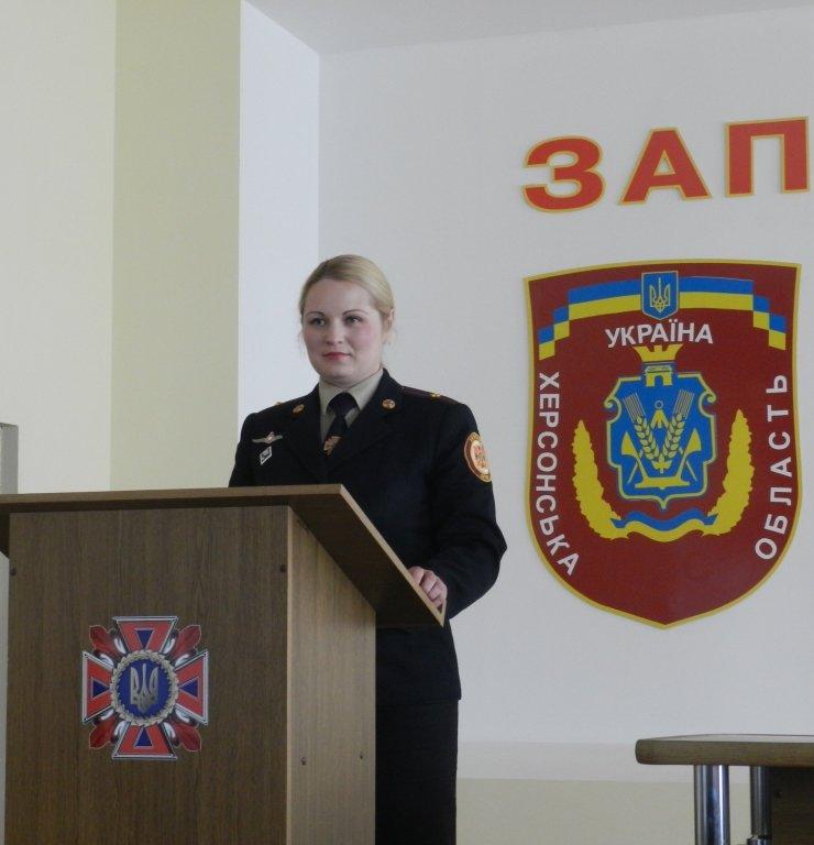 В ГУ ДСНС Херсонской области состоялись торжества по случаю Дня пожарной охраны (фото) - фото 1
