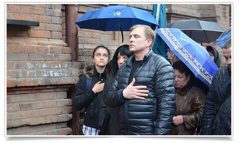 В Славянске открыли доску памяти Владимира Рыбака (видео) (фото) - фото 2