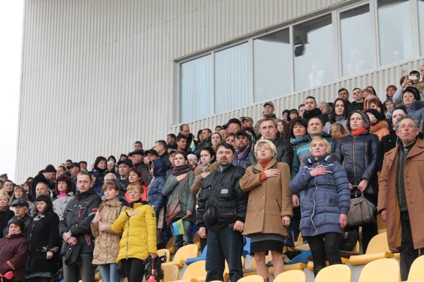 Патриотическая акция в Артемовске и концерт украинских рок-групп собрали стадион, фото-2