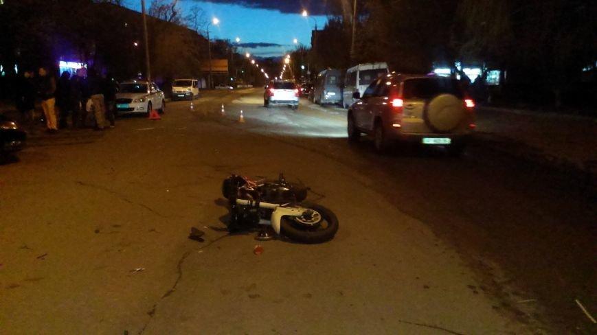 В Днепропетровске в ДТП пострадал мотоциклист (ФОТО) (фото) - фото 4