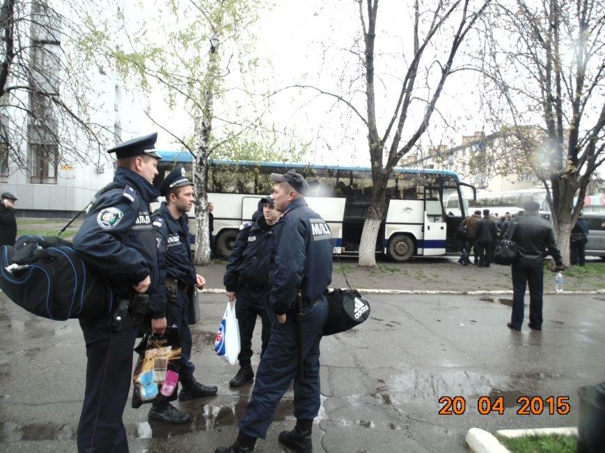 Сегодня утром из Павлограда шахтеры отправились в Киев (фото) - фото 1